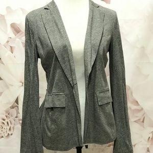 BCBG Maxazria Gray Buttoned Cardigan - Size Small